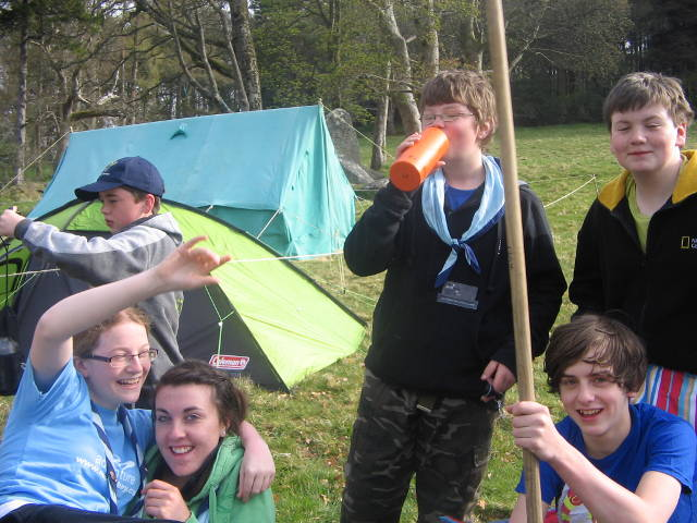 Scouts on Camp